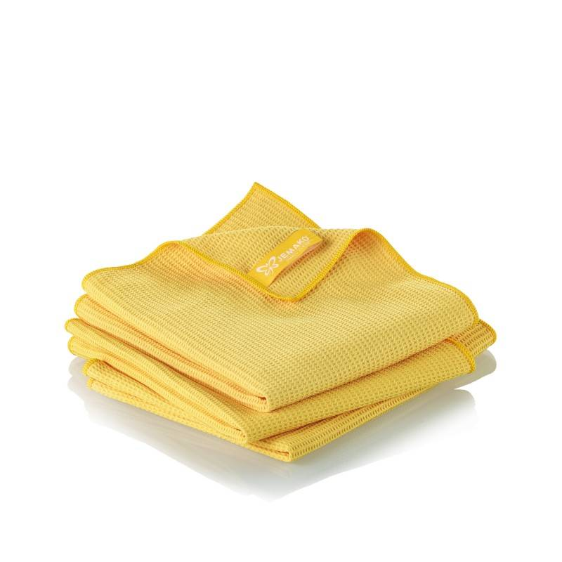 jemako trockentuch klein triopack 40 x 45 cm gelb inkl klickbox. Black Bedroom Furniture Sets. Home Design Ideas